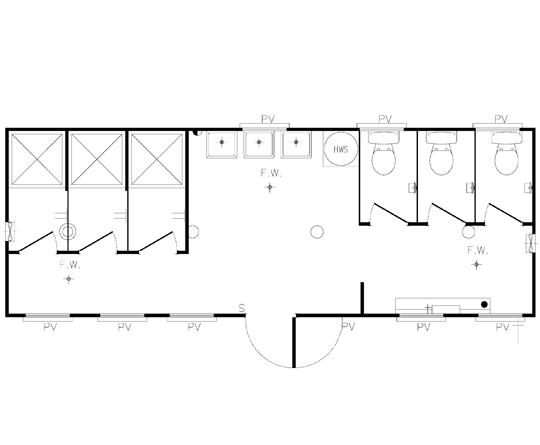 AMS Ablution 8.4m (A-005) Floorplan