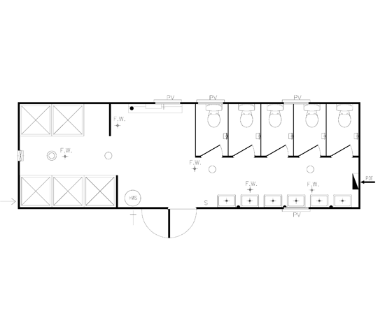 AMS Ablution 9.6m (A-006) Floorplan