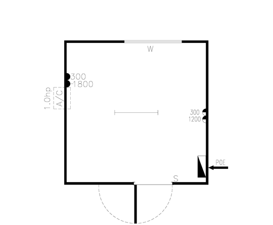 AMS Office (OS-001) Floorplan